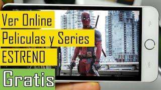 ESTRENOS Peliculas y Series Gratis para Android 2016 | Mejor Que NETFLIX | Descarga en Full HD
