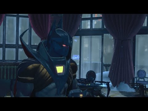 Batman: Arkham Origins (PS3)(Azrael Knightfall Suit Walkthrough)[Part 3] - Anarky [60fps]