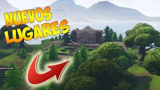 NEW PLACES IN FORTNITE AFTER METEORITE - NEW SECRET CITIES