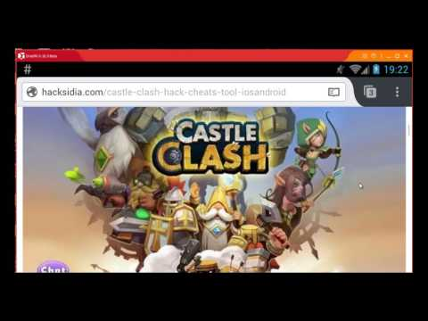 Castle Clash Hack Unlimited Gems Cheat Android IOS
