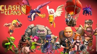 Clash of Clans | 1 Of Every Troop Attack Strategy Gameplay | Fun Attack Strategy