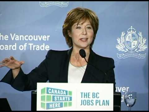 Premier releases Canada Starts Here: The BC Jobs Plan