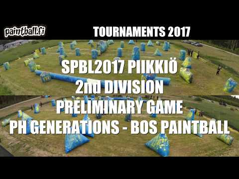 PH Generations vs BOS Paintball - SPBL2017 Piikkiö