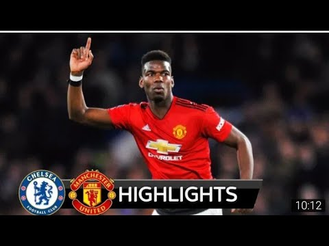видео: Chelsea vs Manchester United 18.02.2019 Кубок Англия