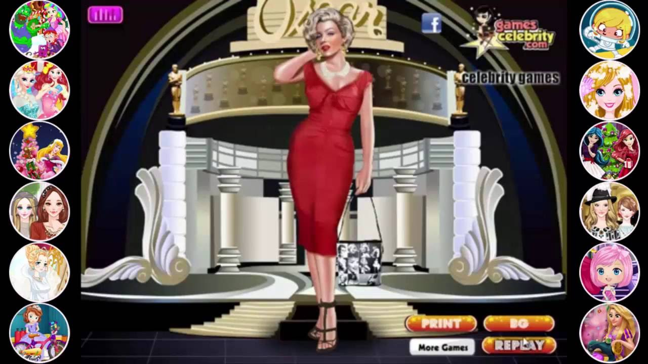Marilyn Monroe Games