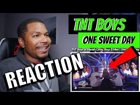 TNT Boys as Mariah Carey, Boyz II Men  | One Sweet Day - REACTION