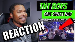 TNT Boys as Mariah Carey, Boyz II Men  | One Sweet Day - REACTION