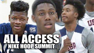 Nike Hoop Summit ALL ACCESS: Collin Sexton, Mo Bamba, Michael Porter Jr, RJ Barrett, Trevon Duval