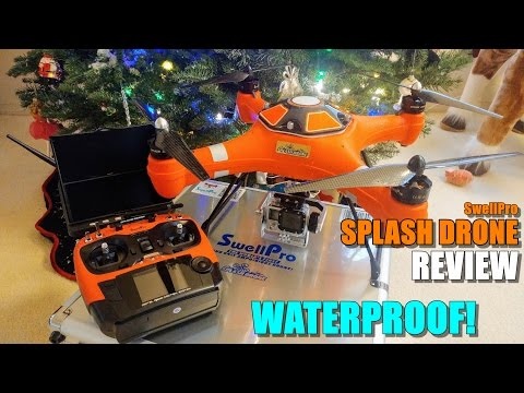 SwellPro SPLASH DRONE (Waterproof Drone) - Review - [Unbox / Inspection / Setup / Rain Test]