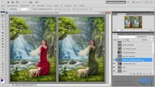 Создание коллажей в Adobe Photoshop. Урок №3. Цвет и цветокоррекция. (Елена Минакова)
