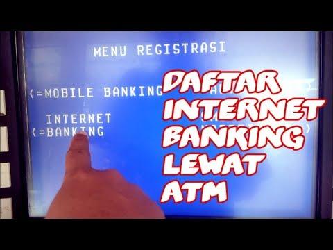 Cara Daftar Internet Banking BRI Lewat ATM