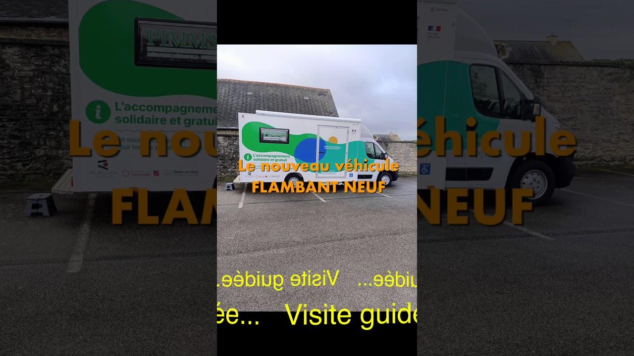 Nouveau véhicule PIMMS Mobile bus France services
