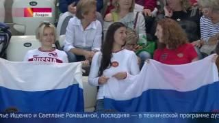 Триумфальное выступление российских синхронисток на Чемпионате Европы в Лондоне