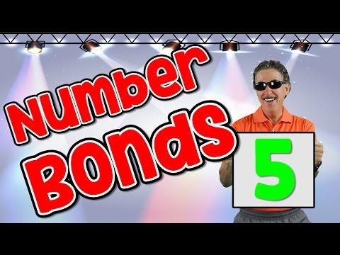 I Know My Number Bonds 5 | Number Bonds to 5 | Addition Song for Kids | Jack Hartmann