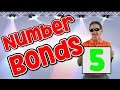I Know My Number Bonds 5 | Number Bonds to 5 | Addition Song for Kids | Jack Hartmann