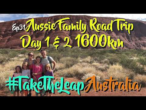 Ep31 [Australian Family Road Trip]. Melbourne to Ayers Rock: TaawkTV
