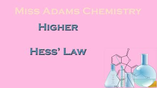Higher: Hess's Law