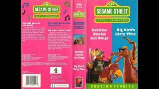 Sesame Street Bedtime Stories 1988 UK VHS