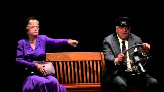 See the stage production of driving miss daisy staring angela lansbury and james earl jones in theatres starting 6/4for tickets locations visit www.broad...