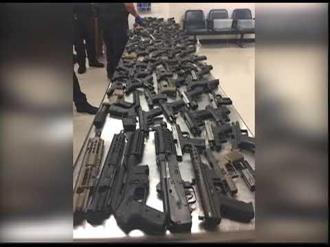 Shipment of Over 100 Guns Intercepted - TVJ Prime TIme News - December 6 2017