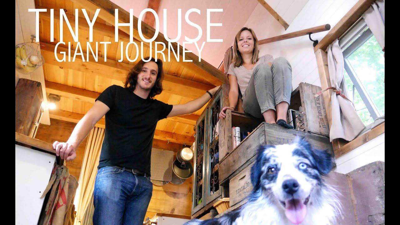 Tiny House Giant Journey 20 Home On Wheels Hits Philadelphia FULL TOUR