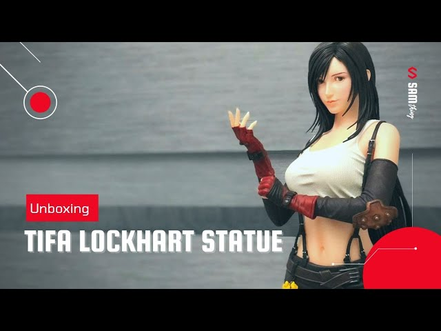 Tifa Lockhart Statue Unboxing Final Fantasy 7 From Mayflies Studios Youtube