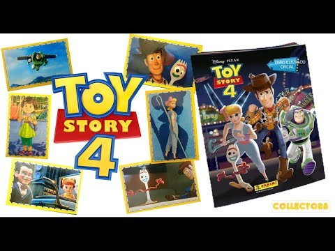 TOY STORY 4 - COMPLETING THE STICKER ALBUM