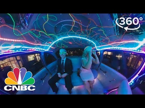 Driver Turns Taxi Cab Into Ultimate Club On Wheels: 360 Video | CNBC