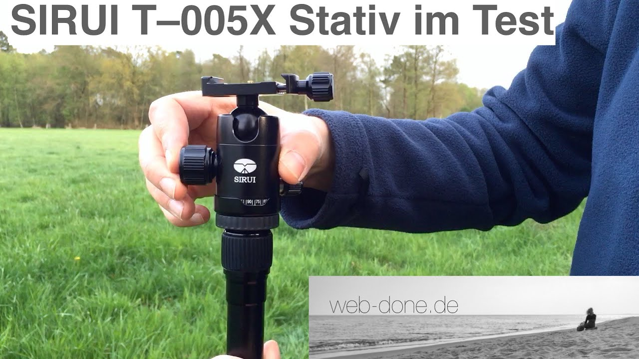 Download SIRUI T–005X Traveler Light Stativ im Test/ Review