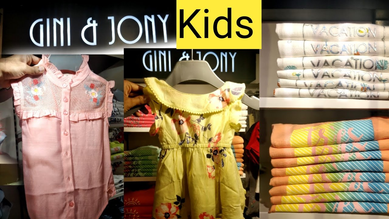 5f5de07cd Beautiful kids summer collection | Gini & Jony | Reliance Trends Store