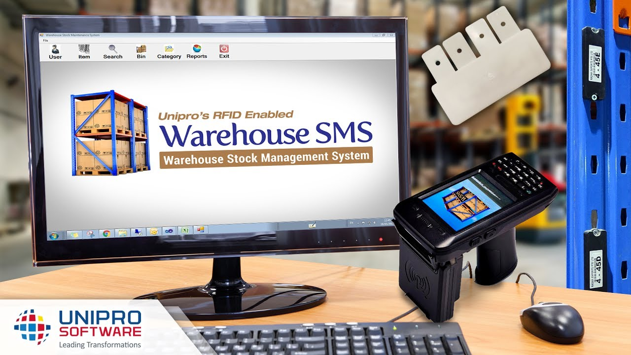 RFID - Warehouse SMS (Stock Management System)