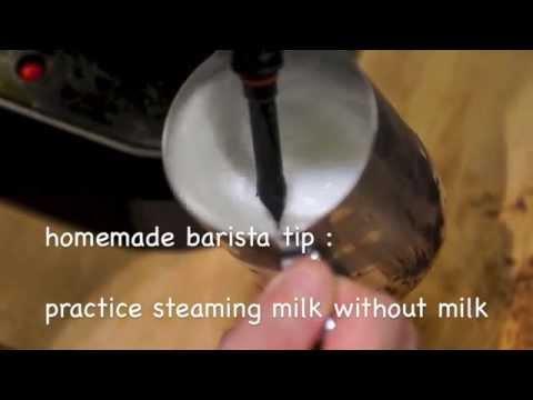 how to make homemade latte milk