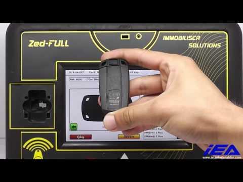 BMW (PCF79XX) Kumandalı Anahtar Kilit Açma Uygulaması (ZFH-C12 Kablosu Kullanarak)
