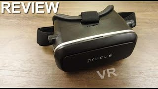 Procus VR Headset review and unboxing
