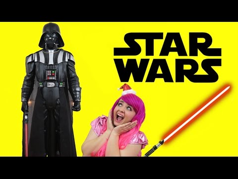 giant-darth-vader-life-size-battle-buddy-|-toy-review-|-kimmi-the-clown
