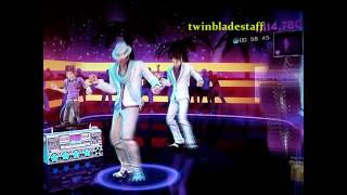 DANCE CENTRAL 3 (When You Gonna) Give It Up To Me - Hard Gameplay 5 Star Gold 100%