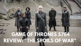 Game of Thrones S7E4 Review: