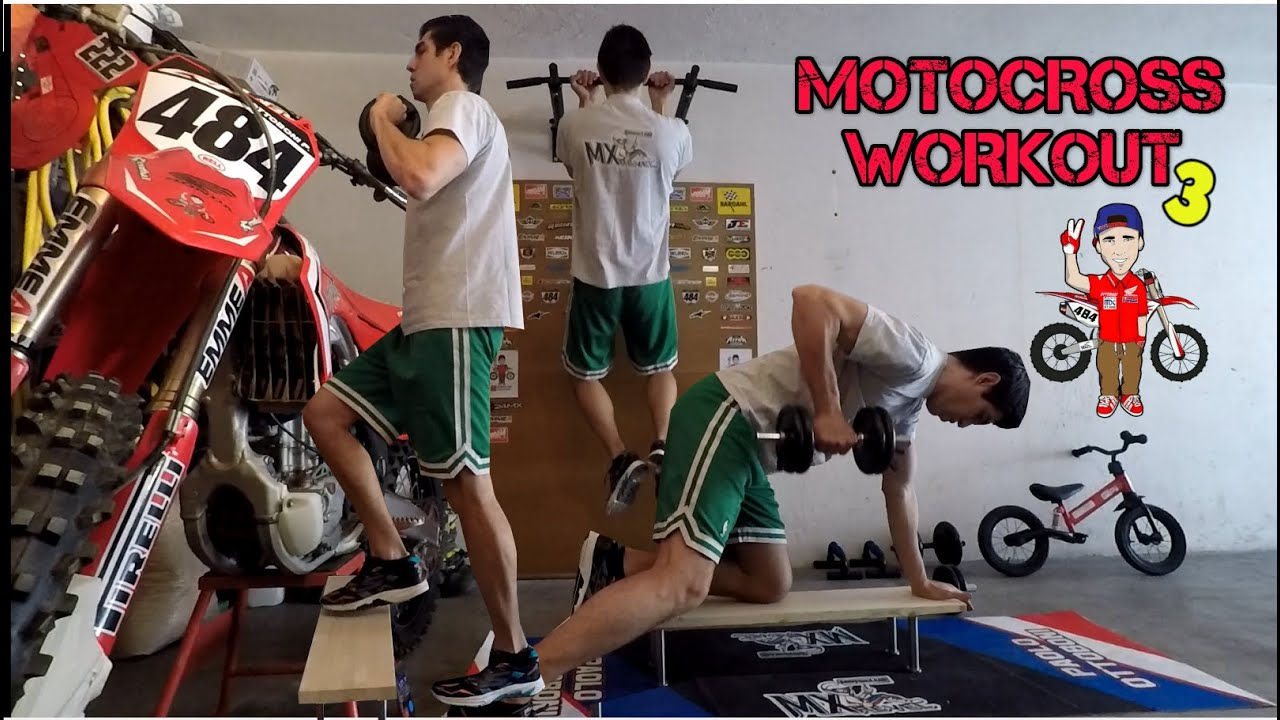 Motocross Fitness Training Home Gym 3 - YouTube