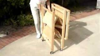 Oasis Concepts Folding Kitchen Carts