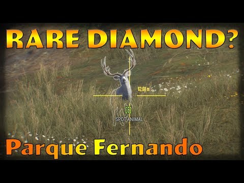 New Map Rare Diamond? Parque Fernando TheHunter Call of the Wild