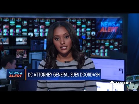 DC attorney general sues DoorDash over worker tips