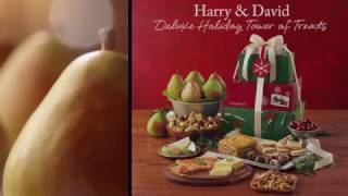 Deluxe Holiday Tower of Treats by Harry & David