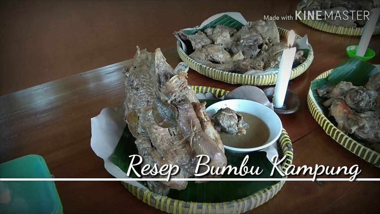 Wisata Kuliner Jogja Ingkung Ayam Kampung Youtube