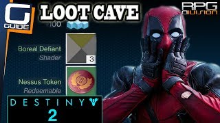 DESTINY 2 BEST LOOT CAVE - Infinite Fast Tokens, Shaders & Gear
