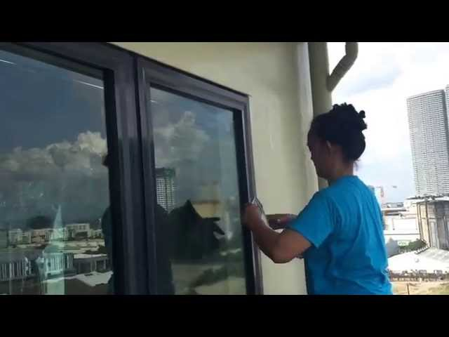 How to Clean Glass Windows and Doors | Home Maid Philippines Tip