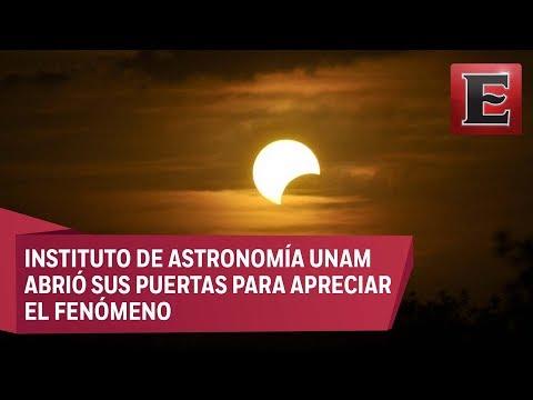 Así se vivió el eclipse solar total en la CDMX