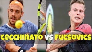 Marco Cecchinato vs Marton Fucsovics | 2R Munich 2018 Highlights