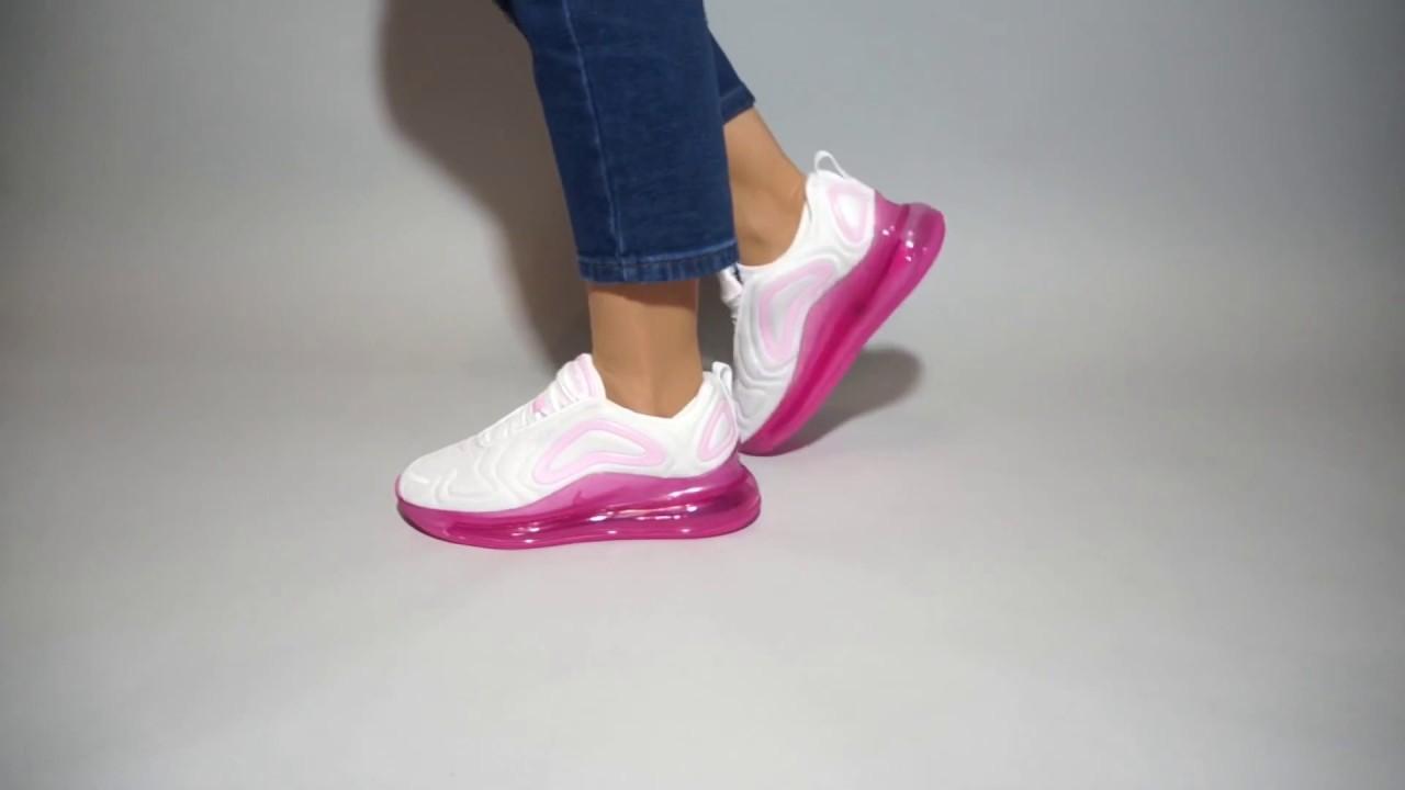 air max 720 womens on feet