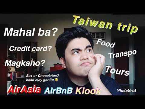 Magkano Nga Ba? - Taiwan Trip Expenses.....KAYANG KAYA MO TO BES!