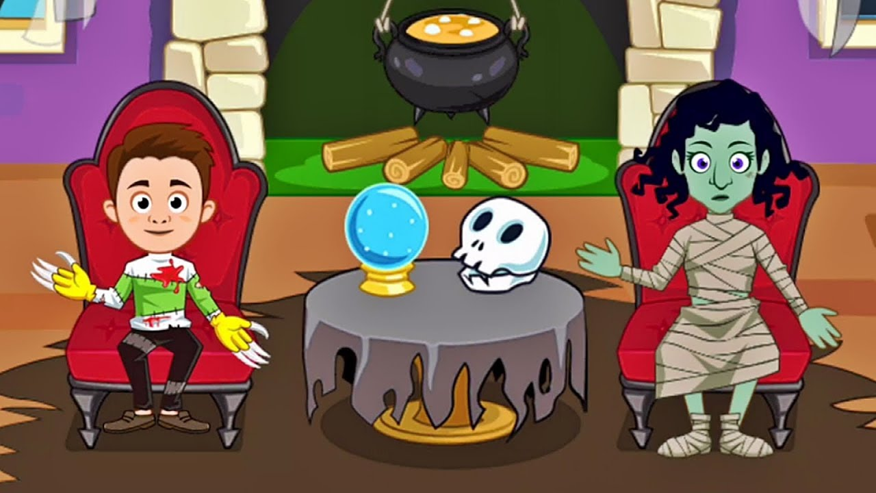 my town haunted house halloween dollhouse top best apps for kids